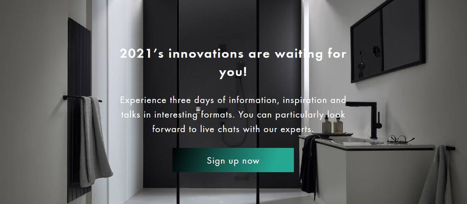 Hansgrohe Aqua Days 2021  Grand Launching: Step by step guide