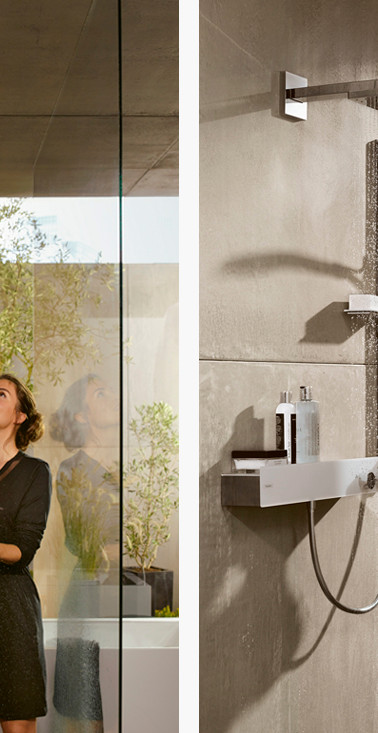 Hansgrohe Raindance E 400 Overhead Shower