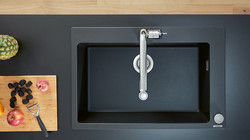 Hansgrohe SilicaTec Granite Sinks