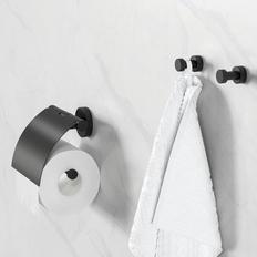 Geesa Robe Hook & Toilet Paper Holder