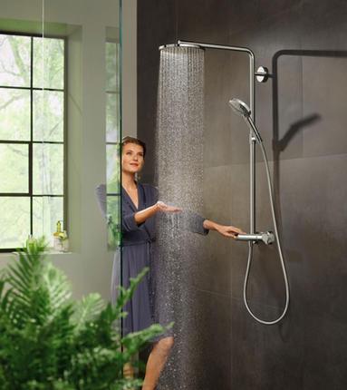 Hansgrohe PowderRain Showerpipe