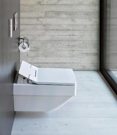 Duravit Vero Air wall hung toilet sensowash slim