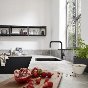 Hansgrohe Talis Kitchen Mixer Matt Black