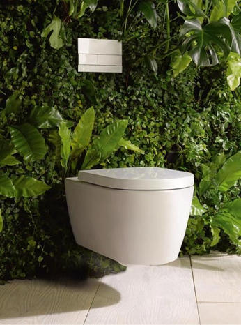 Duravit Happy D2 wall hung toilet