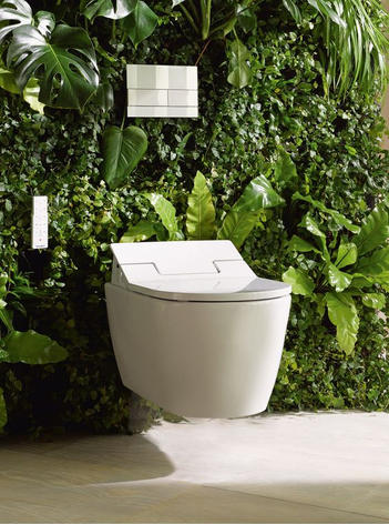 Duravit Me by Starck wall hung toilet