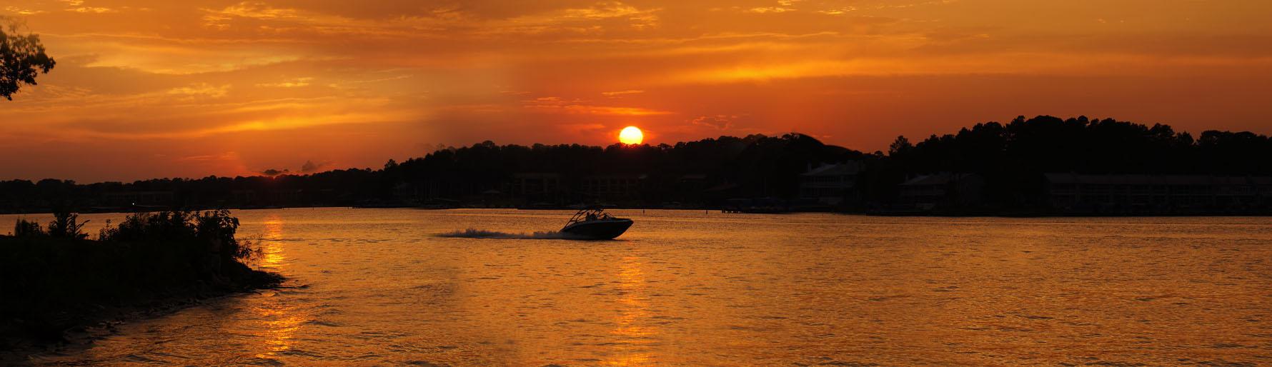 sunset_Lake_Conroe