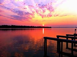 Lake Conroe 5 Sunset