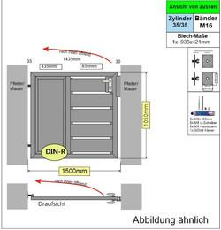4_Mix_Sichtschutztür