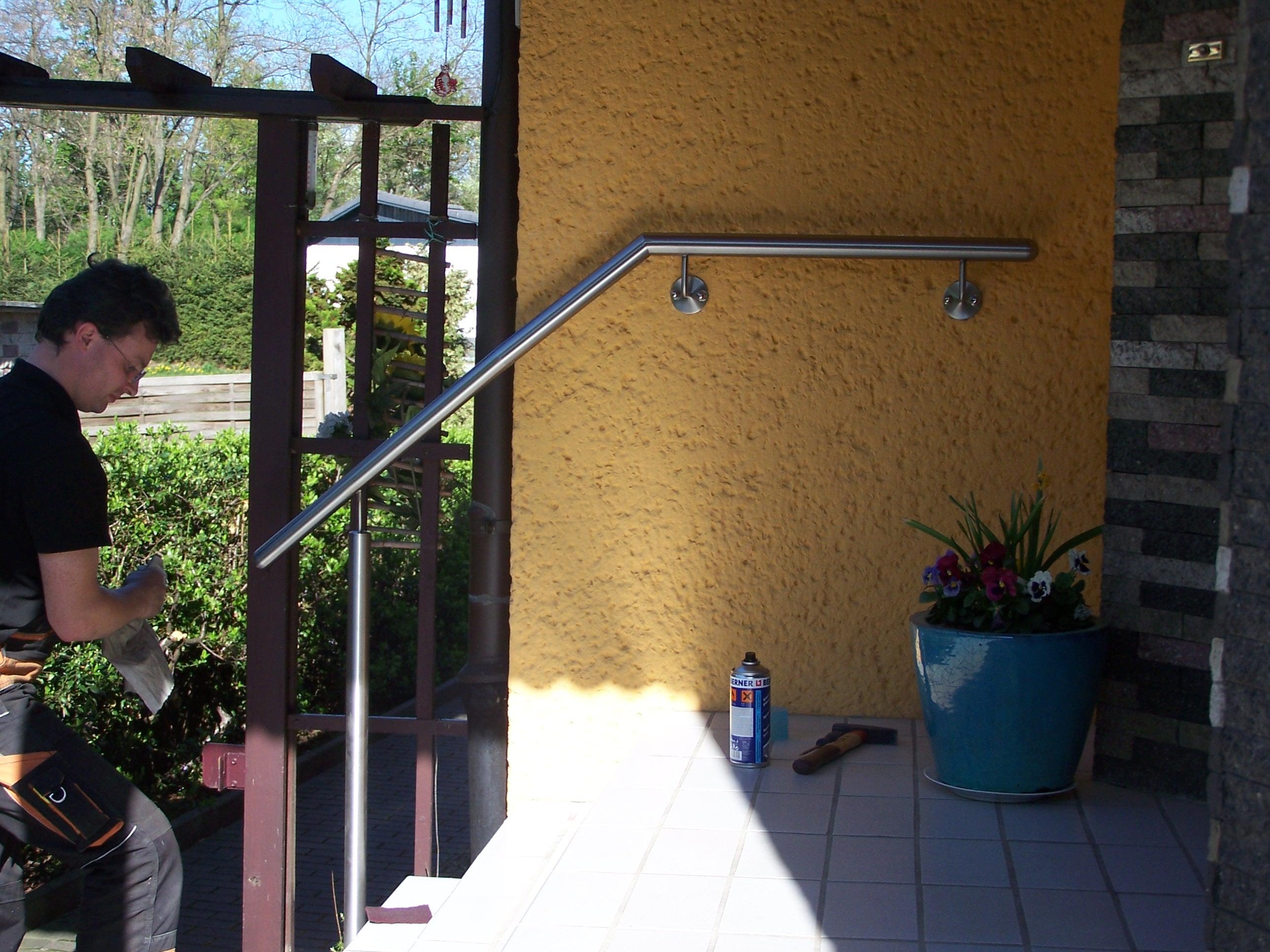 Treppenhandlauf Stift 2 seitliche Montage