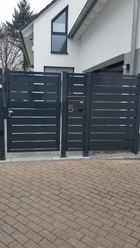 Sichtschutz Tür mit Briefkasten