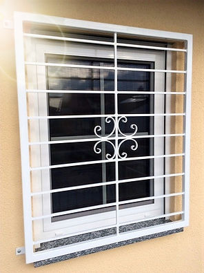 Fenstergitter verzinkt