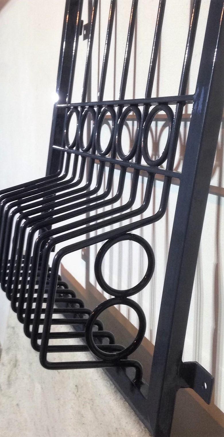 Fenstergitter Korb-Form