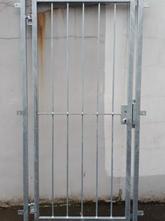 Gittertür Modell Vertikalstab Stahl verz
