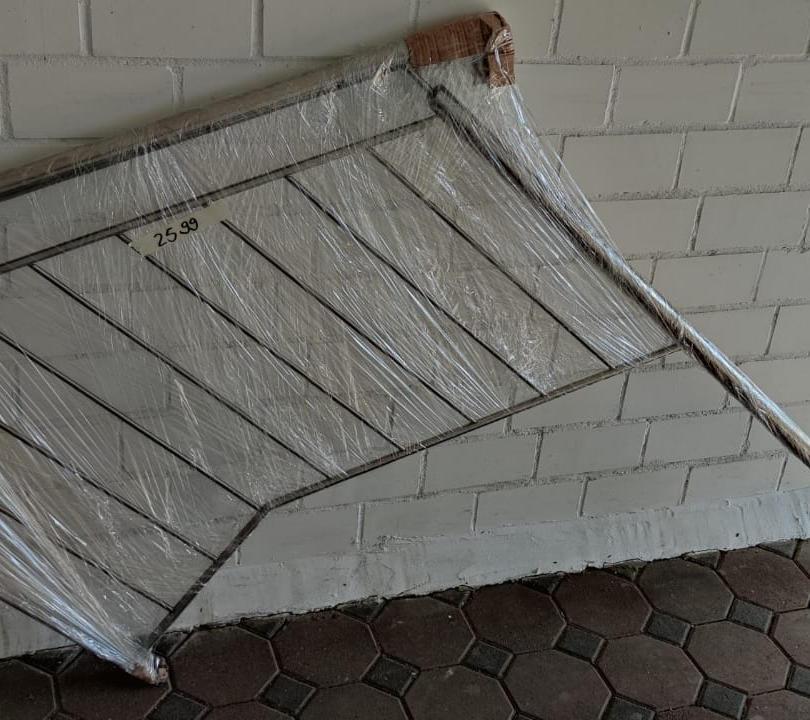 V2A Geländer Stabfüllung Wand-Treppen Mo