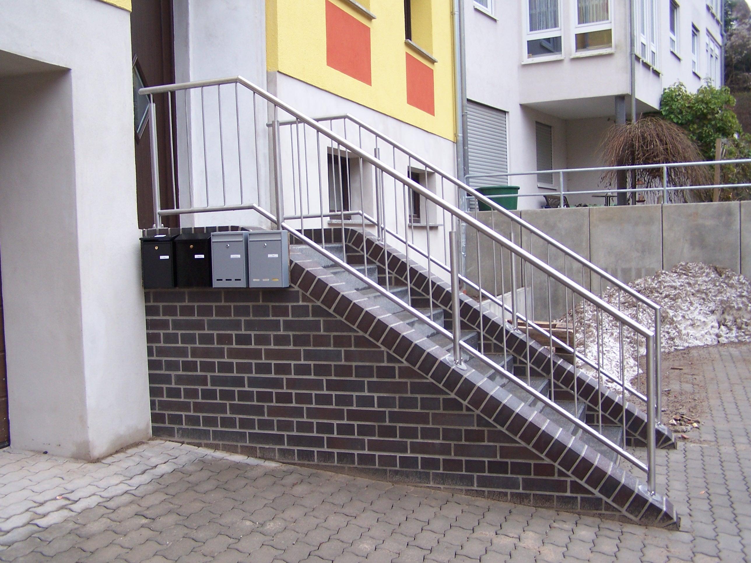 Geländer Kompakt 2 Stabfüllung