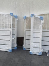 Gartentüren 2-flüglig Modell Sichtschutz