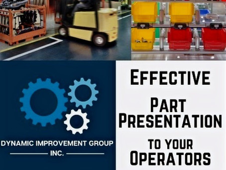 Effective Part Presentation to the Operators