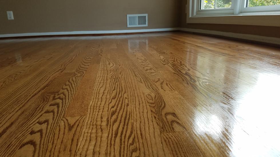 Wood floor refinishing service Manassas VA