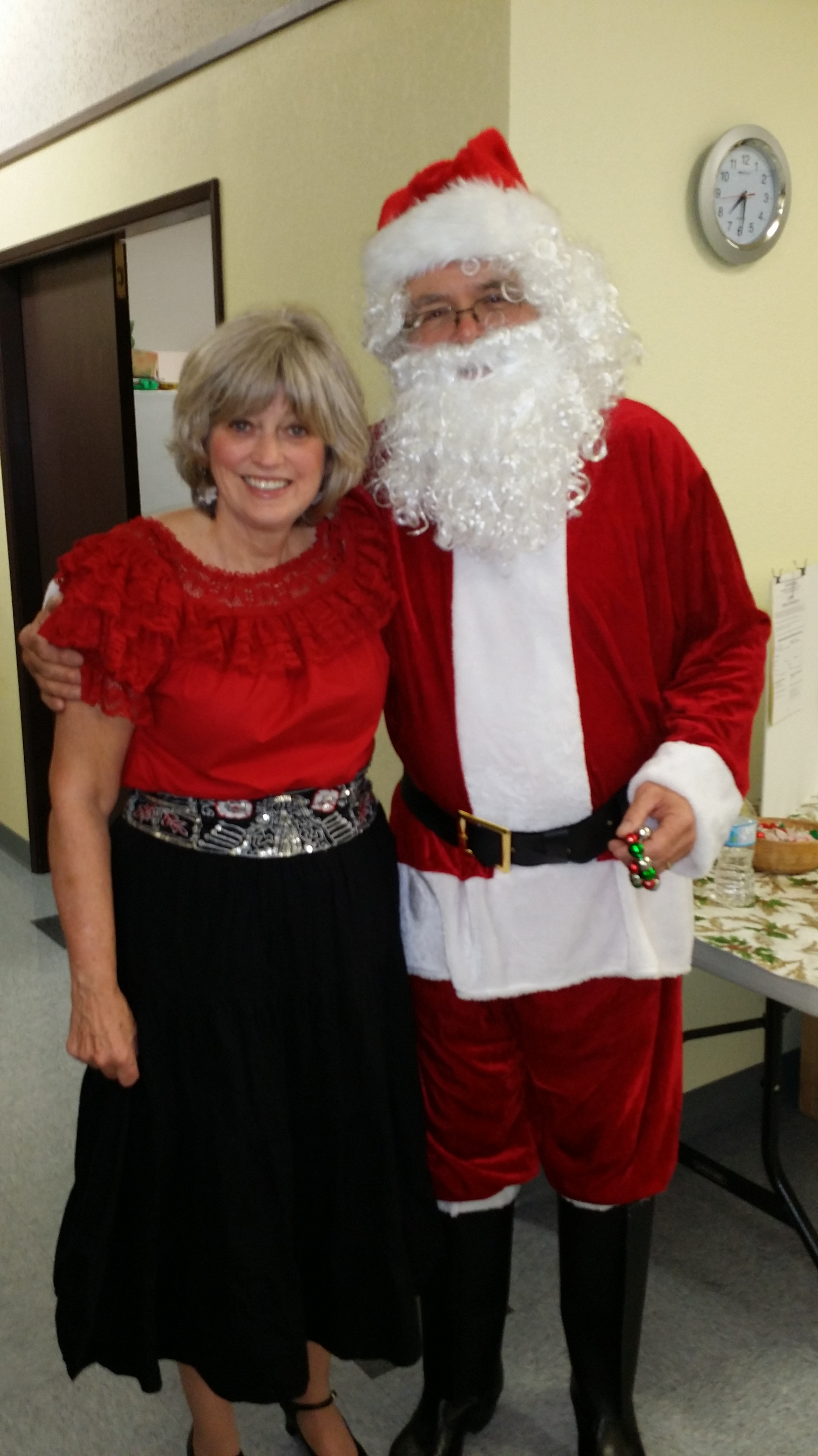 Cathy & Santa