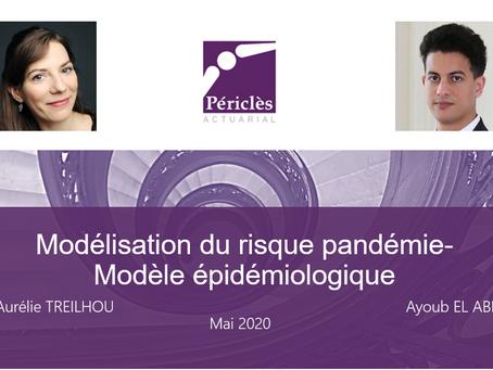 Modélisation du risque pandémie - modèle épidémiologique
