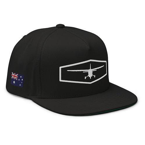 Australia Flag Flat Bill Cap