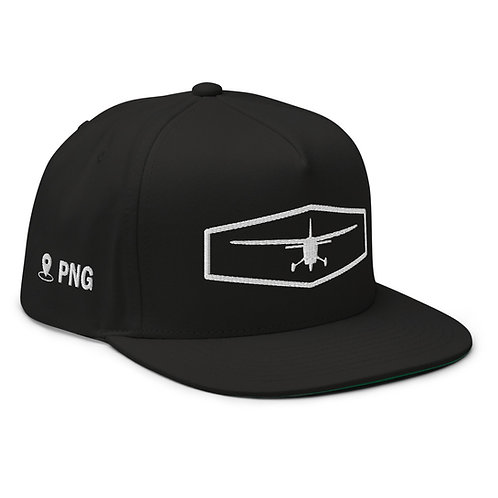 PNG Location Flat Bill Cap