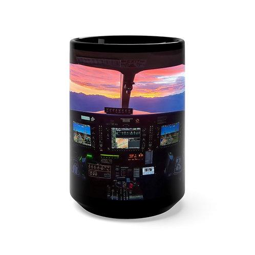 Cockpit Sunrise Mug 15oz
