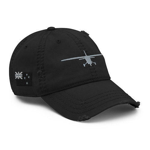 Distressed Dad Hat- New Zealand Flag