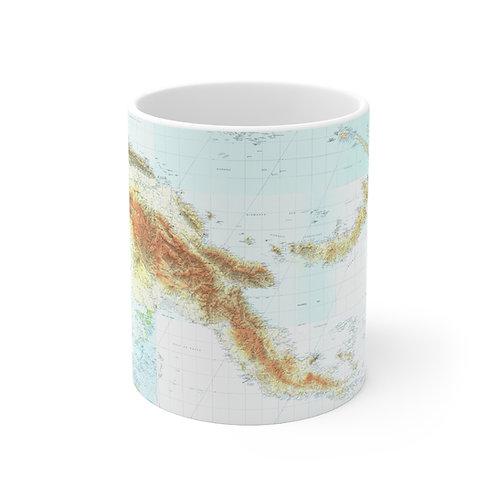 PNG Map Mug 11oz