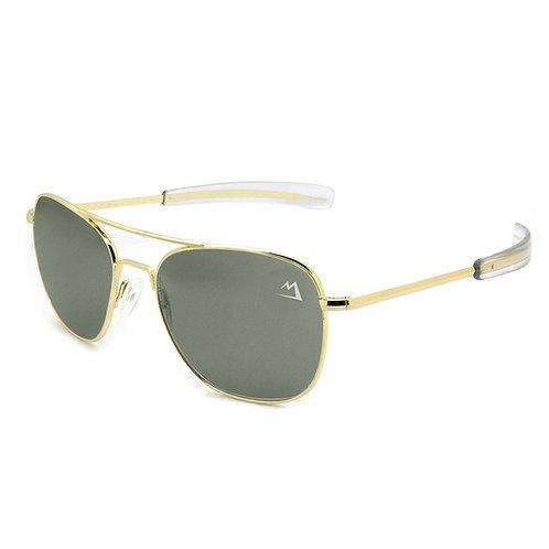 Bush Pilot Aviator Sunglasses -Gold (ones I wear)