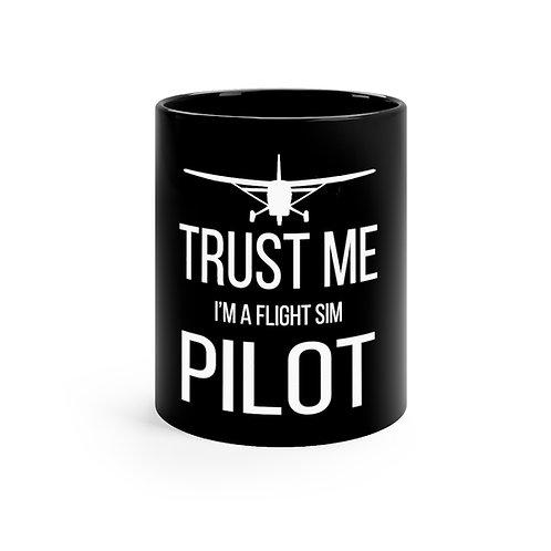 SIM Pilot mug 11oz