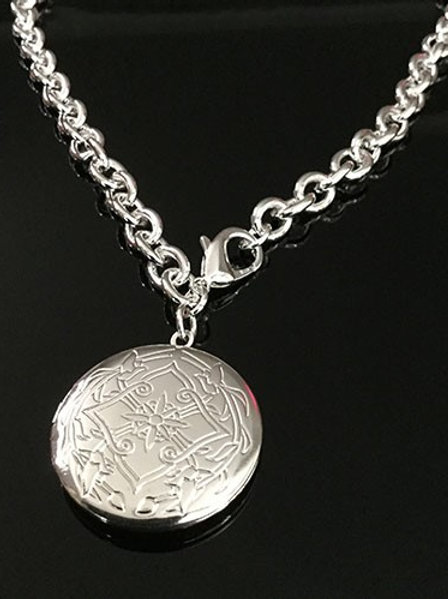 Sterling Silver Circular Locket