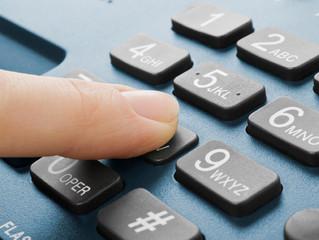 Problemas com Telefonia fixa?
