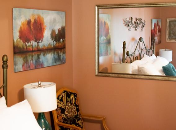 Signal room mirror