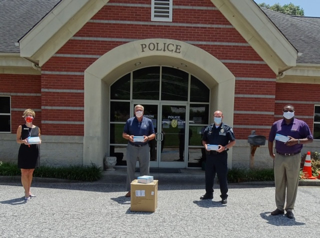CPD Mask Distribution