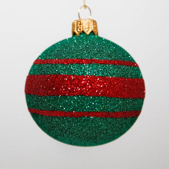 "#2087 - Thomas Glenn ""Christmas"" Mini Ball Christmas Ornament"