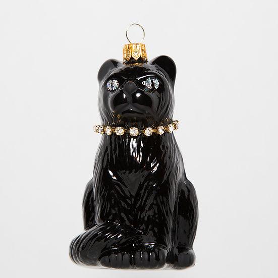 "Thomas Glenn ""Cat - Black"" Molded Ornament"