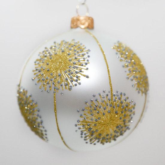 "#2052 - Thomas Glenn ""Allium"" Ball Christmas Ornament"