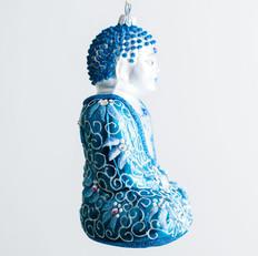 Buddha - Teal - View 2