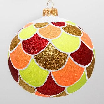 "#2099 - Thomas Glenn ""Pompeii"" Ball Christmas Ornament"