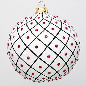 "#1748 - Thomas Glenn ""Freckles"" Ball Ornament"