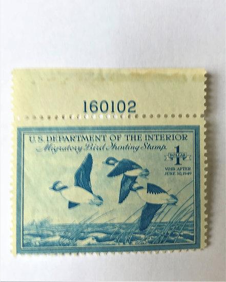 Stamps - United States Duck Stamp - Scott #RW15