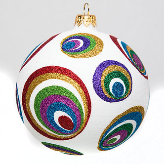 "#1741 - Thomas Glenn ""Eye Candy"" Ball Ornament"