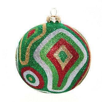 "#361 - Thomas Glenn ""Camo Christmas"" Ball Ornament"