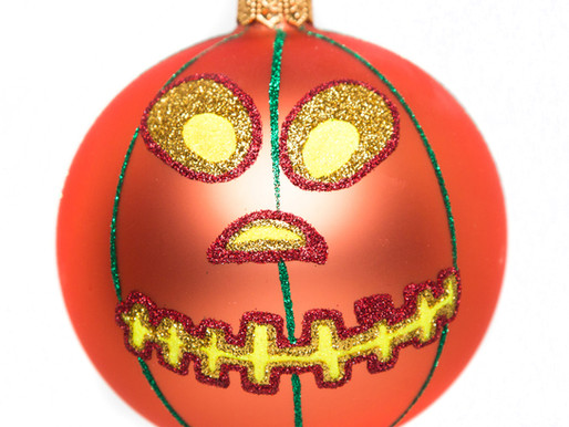 """Jack O'"" Halloween Ornament by Thomas Glenn Holidays"