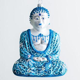 """#Buddha-Teal - Thomas Glenn """"Buddha Teal"""" Molded Christmas Ornament"""