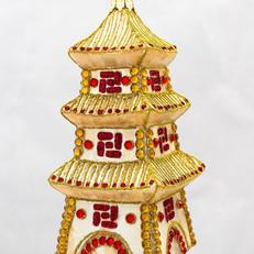 655 - Pagoda - Gold