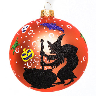 "#1779 - Thomas Glenn ""Witchy Woman"" Halloween Ornament"