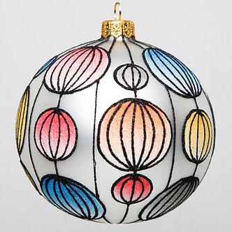 "#1745 - Thomas Glenn ""Japanese Lanterns"" Ornament"