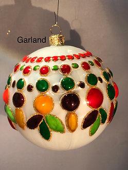 "#17 - Thomas Glenn ""Garland"" Ball Ornament"